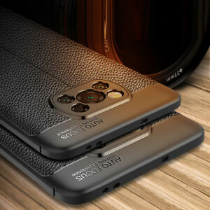 For Xiaomi POCO X3 NFC Mi 10T Lite Shockproof Rubber TPU Leather Back Case Cover