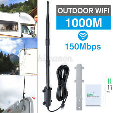 1000m Outdoor WiFi Extender USB2.0 Adapter 802.11b/g/n WiFi Antenna Amplifier