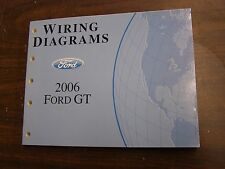 New OEM 2006 Ford GT Supercar Wiring Diagram Shop Manual Book