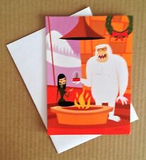 SHAG Josh Agle Christmas Xmas Holiday Greeting Card Postcard Art Print New Tiki