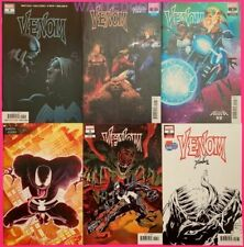 VENOM #1 2 3 4 5 6 DONNY CATES ALL FIRST PRINTS VARIANT COVERS COMIC SET KNULL