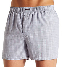 New Calvin Klein Relaxed Fit Men's Woven Boxer U1147-58s size S $19