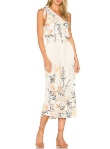 Free People Womens Island Time OB582273 Jumpsuit Relaxed White Size S