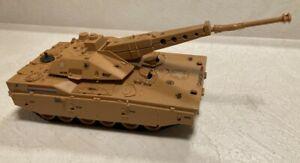 Vintage GI JOE 1985 Mauler Tank Original Bradley Hasbro Tan CLEAN WORKING!!