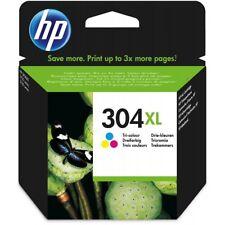 HP 304XL Trois Couleurs Cartouche d'encre d'origine (N9K07AE) Deskjet 3700 3720