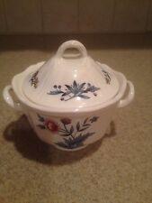 WEDGWOOD WILLIAMSBURG POTPOURRI NK510 Sugar Bowl with Lid