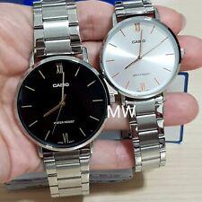 Casio Stainless Steel Watch MTP/LTP-VT01D Quartz Analog Dress Lover Couple New