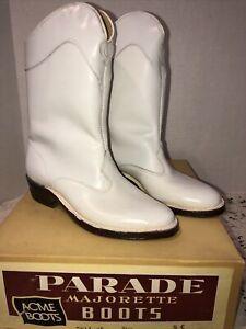 Parade Majorette Boots Acme Boots Sz 5C NOS W Box Vintage