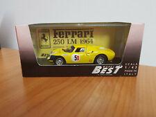 Model Best 9018 Ferrari 250 LM Kyalami 66 1:43 NEU und OVP