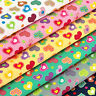 Cotton Fabric by FQ Kawaii Flower Gingham Stripe Heart Quilt Polka Dot Spot VA92
