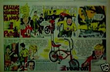 1969 Iverson George Barris~I Patrol Boys Zingy Colors Bicycles~Bikes Cartoon AD
