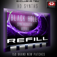 REASON REFILLS THE BLACK HOLE SYNTH ON SALE!!!!