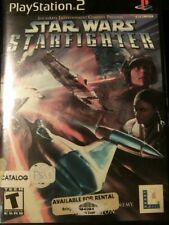 Star Wars Starfighter  (PlayStation 2, 2001) PS2 Complete. Tested. FREE Shipping