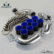 Front Mount Intercooler Pipe Piping Kit For Skyline R33 R34 GTR RB26DETT Black