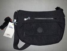 NWT KIPLING SYRO Travel Shoulder CrossBody Bag Black Tonal