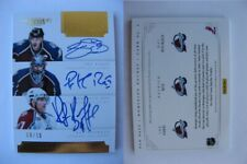 2011-12 Panini Dominion #2 Sakic Bourque Roy 06/10 pen pals triple auto SICK