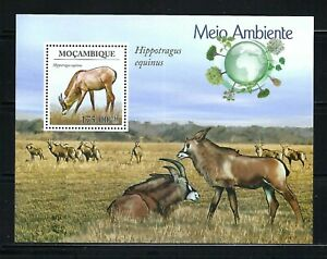 Mozambique 2010 Sc#1931  The Natural World-Roan Antelope  MNH S/S $13.50