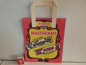 Mastercraft  Vintage 1960's Promotional Paper Show Bag *RARE*