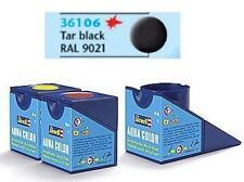 Revell 18 Ml 36106 06 Negro Mate alquitrán de pintura acrílica