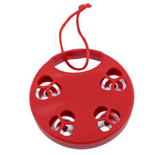 Red Tambourine Hand Shake Education Toy Rattle Bed Bell Percussion Instrument