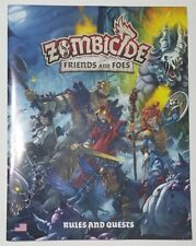 Rulebook - Zombicide Friends and Foes - COMBINE SHIPPING - Helpful to have extra