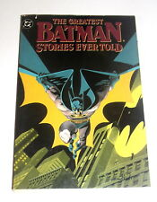 Batman - the Greatest Batman Stories Ever Told - 352 pg Trade Paperback Free Shi