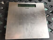 Taylor 7409 Lithium Electronic Scale Used Silver
