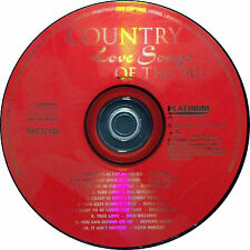 Country Love Songs of the 90's by Various Artists (CD, May-2000, Platinum Disc)