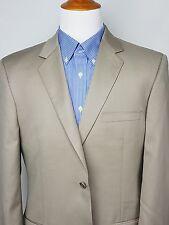 ALFANI Men's Beige/Khaki Wool/Cashmere Sport Coat Blazer Jacket 42R 42 Regular