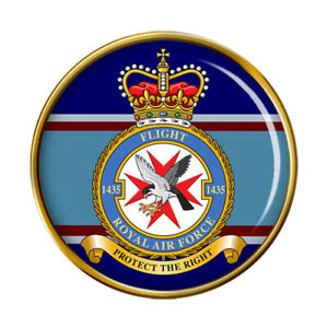 1435 Flight, RAF Pin Badge