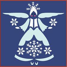 SNOWFLAKE ANGEL STENCIL - CHRISTMAS - The Artful Stencil