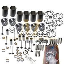 Overhaul Rebuild Kit For Mitsubishi 6D34 6D34T Engine Piston Ring Liner Gasket