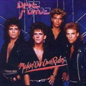 DARE FORCE-Makin' our own rules  feat.David Reece          80er Hard Rock CD
