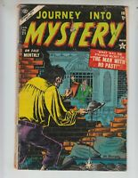 """Journey Into Mystery 21 Good Plus (2.5) 1/55 """"The Man With No Past!"""""""
