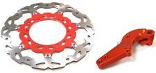 FOR KTM 150 250 SX 300 XC 450 Front Brake Disc Rotor Bracket 320mm P DR18+BK31