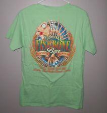 FUDPUCKER BREWING fishbone logo Destin med T shirt beer & seafood tee Florida