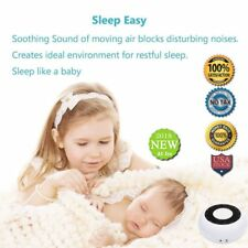 Sound Spa Relaxation Machine for Baby Adult and Traveler 15 Non-Looping Fan and