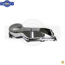 64-72 GM A Body Firewall Heater Case Blower Motor Fan Housing Box No A/C CHROME