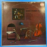 WEST COAST JAZZ  VOL 3 LP 1957 MONO CHET BAKER SHANK GREAT CONDITION! VG+/VG!!