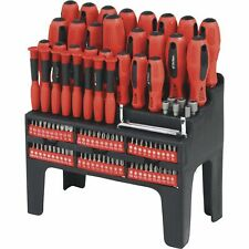 Ironton Screwdriver Set with Rack - 100-Pc.