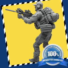 1/35TH Captain Of The Special Forces Soldier Modern War Model Kit Scene