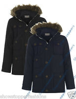 BOYS PARKA JACKET COAT HOODED Boy Padded CLOTHING AGE 7 8 9 10 11 12 13