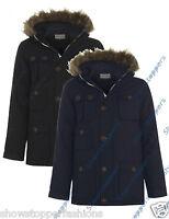 BOYS PARKA JACKET COAT HOODED Boy Padded CLOTHING AGE 7 8 9 10 11 12 13
