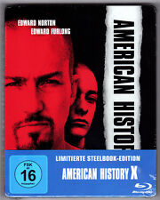 American History X Blu-ray Steelbook NEW & OVP SEALED Region free sold out