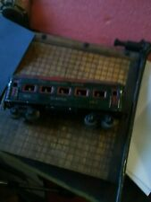 "DORFAN O-GAUGE SEATTLE LIGHTED PULLMAN PASSENGER CAR WITH PEOPLE INSIDE  8"" LONG"
