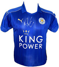 Signed Brendan Rodgers Leicester City Home Shirt Celtic Liverpool Swansea City