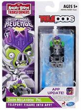 Transformers Hasbro Angry Birds Telepods Dark Megatron Pig Figure Brand New