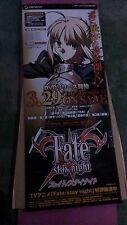"Standing signboard ""Fate/stay night Sabre""Japan"