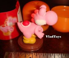 Furuta Choco Egg Super Mario Bros. Wii #2 Pink Yoshi Mint in Egg US Dealer