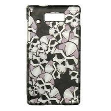 Black Skulls Hard Case Phone Cover for Motorola Triumph